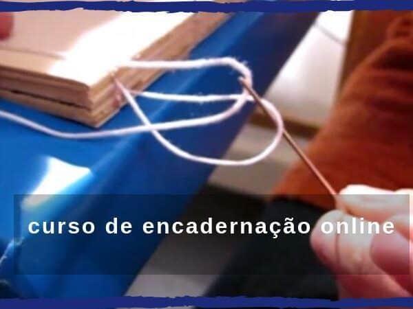 curso de encadernação artesanal online