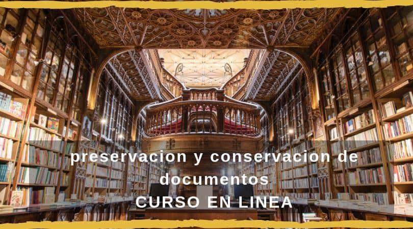 preservacion y conservacion de documentos