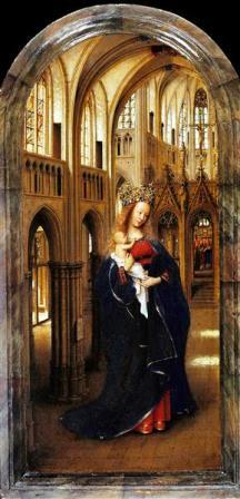 Madona in the church Jan van Eyck