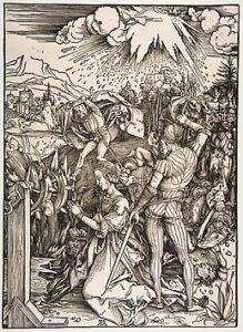 martirio de Santa Catarina de Alexandria