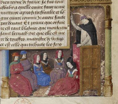 BRESANÇON, Jacques. 1480 Tiago de Varazze a pregar.
