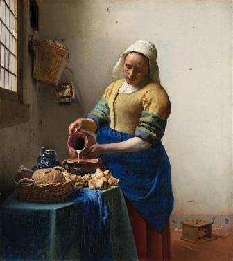 A leiteira Vermeer