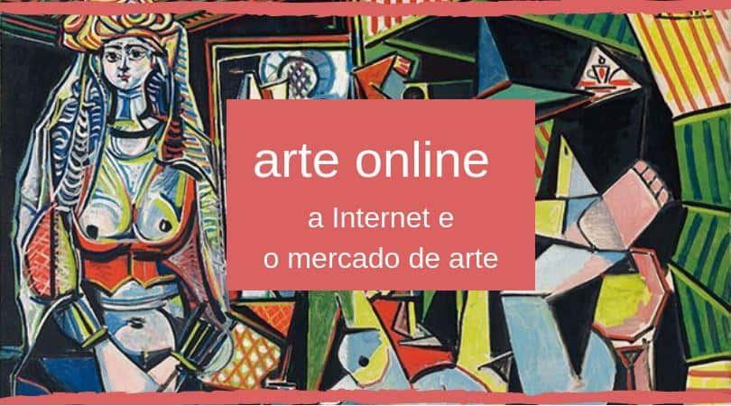 Arte online capa