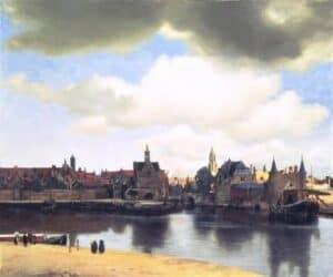 Paisagem Vermeer