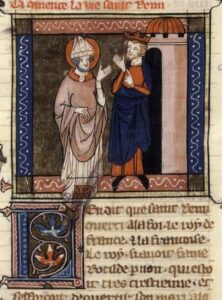 Saint Remy et Clovis Legenda aurea