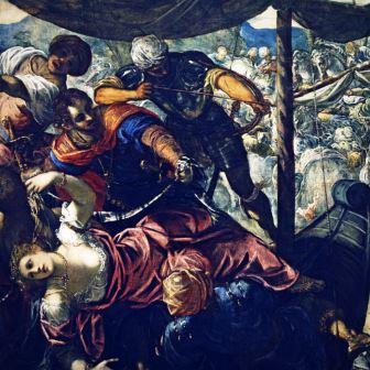 O Rapto de Helena,Tintoretto1578_1579,
