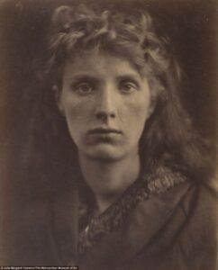 A Ninfa da Montanha (The Mountain Nymph, Sweet Liberty), Julia Margaret Cameron 1866.