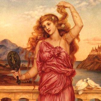 Guerra de troia Helena de Troia de Evelyn de Morgan (1898).
