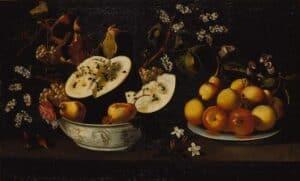 Josefa de Óbidos natureza-morta-com-frutos-e-flores-1670