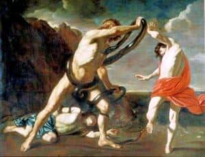 guerra de troia Laocoonte