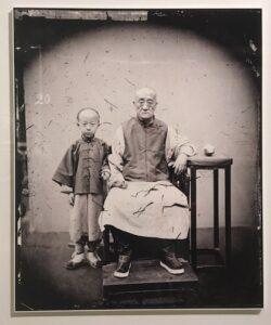 Mandarim com o filho, 1869
