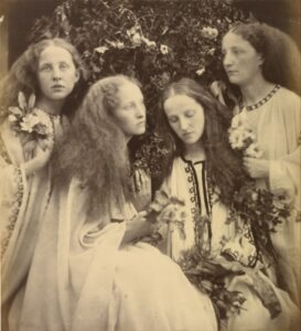 The Rosebud Garden of Girls (O Jardim do Roseiral das jovens), Julia Margaret Cameron , 1868