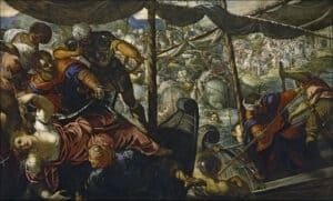 O Rapto de Helena,Tintoretto1578_1579, Museu do Prado, Madrid