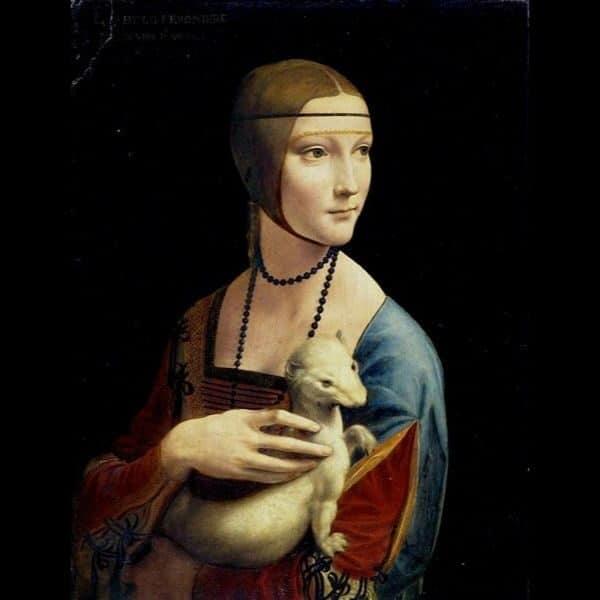 Dama com arminho