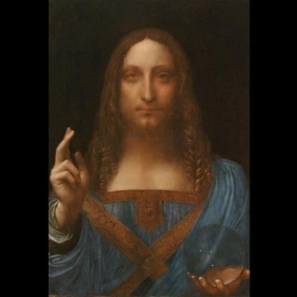 obras de Leonardo da Vinci Salvator Mundi