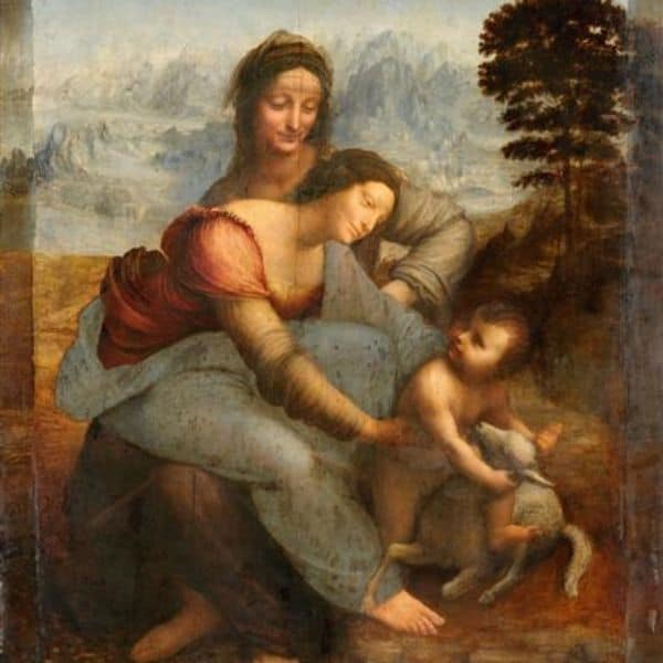A Virgem e o Menino com Santa Ana