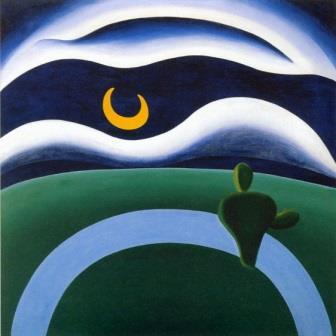 Tarsila do Amara , A Lua, 1928.