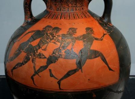curso de mitologia online vaso Panateneias