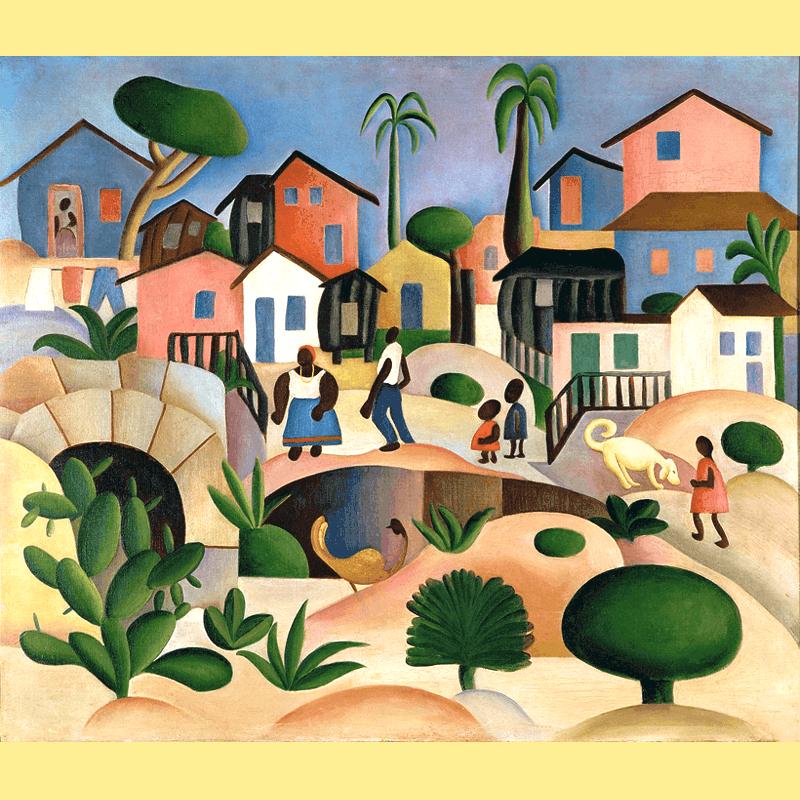 Tarsila do Amaral Morro da Favela, 1924