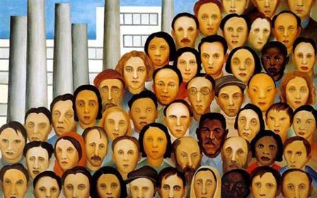 Operários, 1933 obras de Tarsila do Amaral
