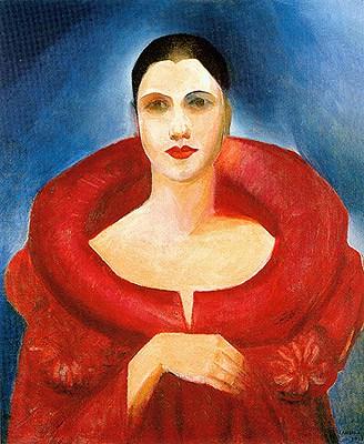 obras de Tarsila do Amaral Autorretrato, 1923