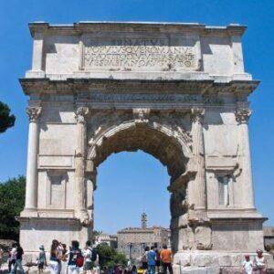 Arco de Tito, sec. I, Roma