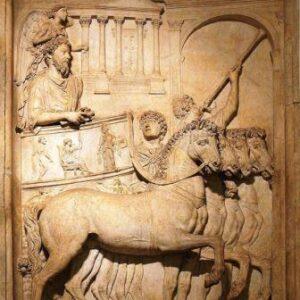 baixo relevo Triunfo de Marco Aurélio, Museus Capitolinos