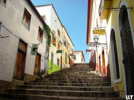 Beco Catarina Mina, em São Luís Brasil