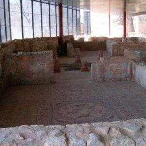 Roman architecture Conimbriga, Portugal