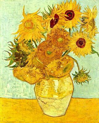 mercado de obras de arte girassois Van Gogh