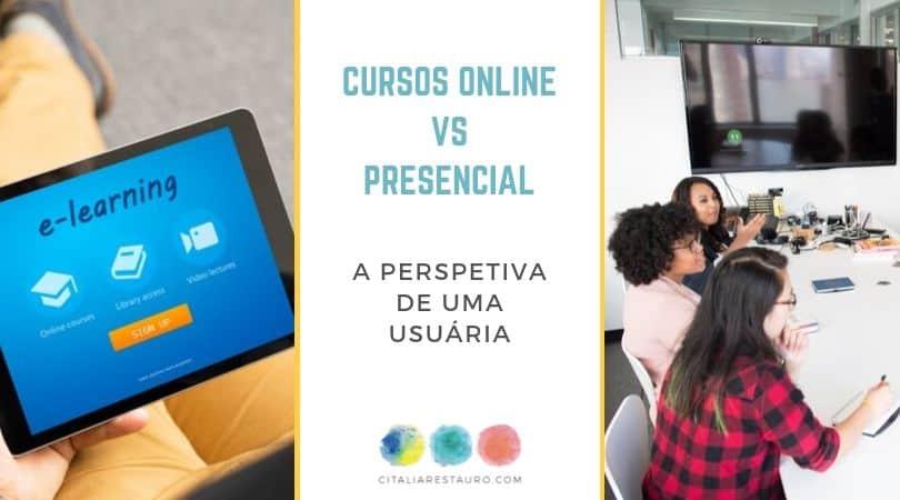 cursos online vs presencial