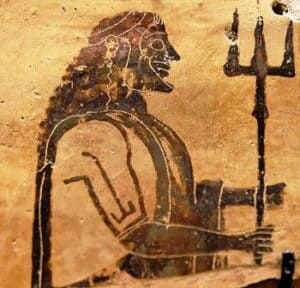 origem de Atenas Poseidon