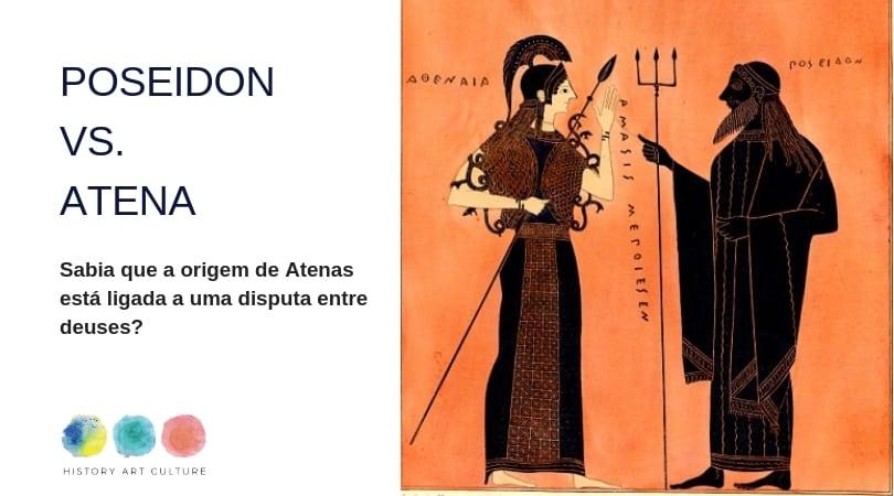 origem de atenas Atena Poseidon