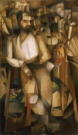 fases do cubismo O Homem na varanda