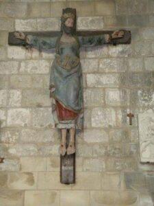 dia de todos os santos Sainte wilgeforte