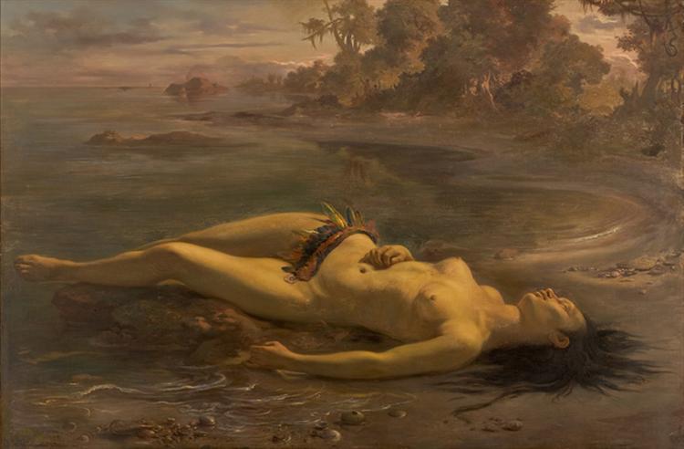 história da arte brasileira Moema 1866