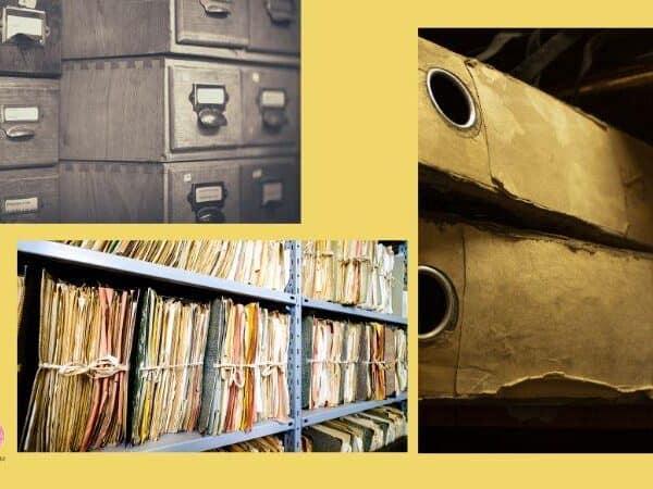 curso de preservação e conservação de documentos