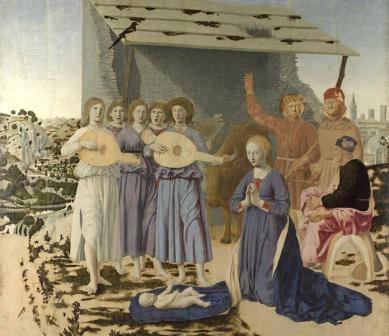 Natividade Piero de la Francesca