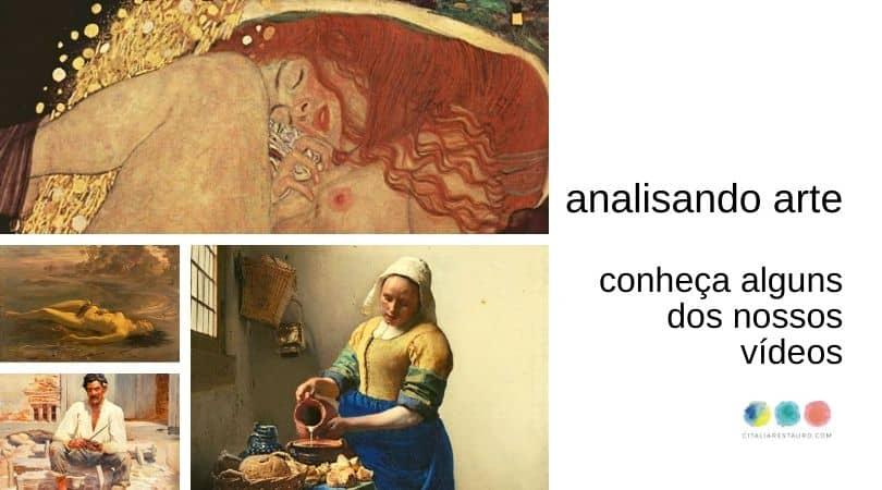 analise de uma obra de arte