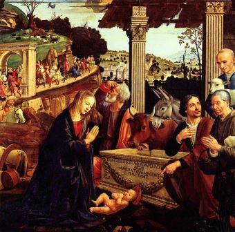Natividade Domenico Ghirlandaio, 1485
