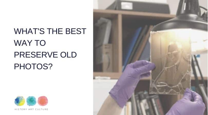 In this post we will talk about preserving old photos and the best way to do it.  What are the most suitable materials for albums and boxes to store photos? What are the most common damages found in old photographs? How to handle and pack our family photos?