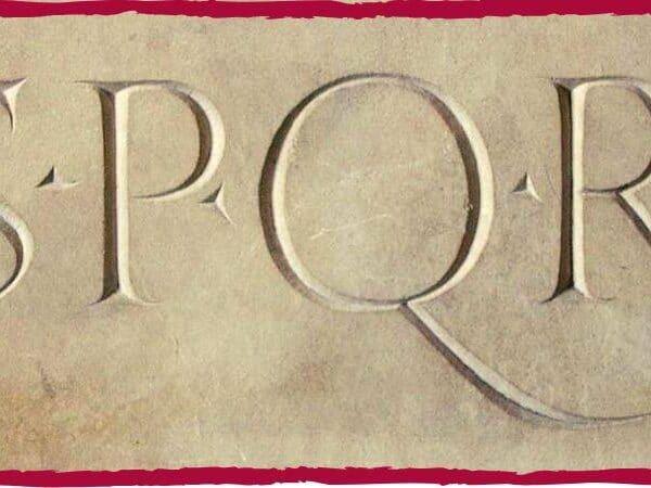 sociedade romana SPQR