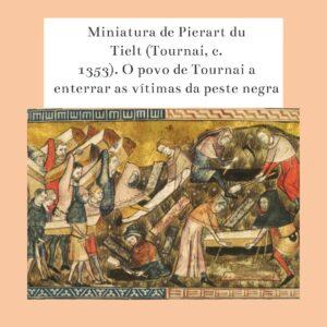 período da Idade Média peste negra