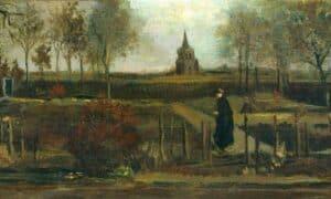 Jardim da Primavera 2 quadros de Van Gogh