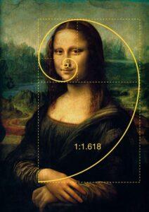 arte e matemática Mona Lisa
