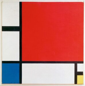 Piet Mondrian, Composition with Red, Blue and Yellow, 1930, Private Collection.