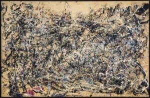 arte e matemática Pollock