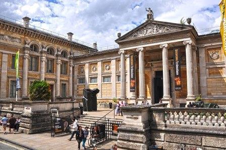 história dos museus Ashmolean Museum Julho 2014