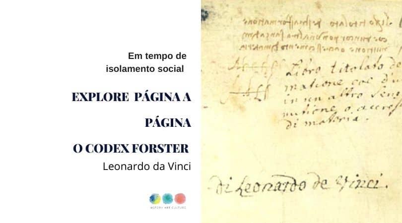 Codex Forster capa