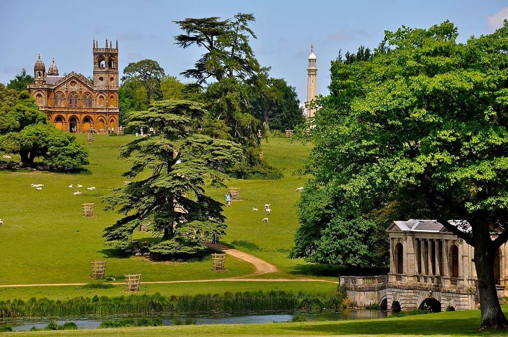 Stowe Garden jardim inglês